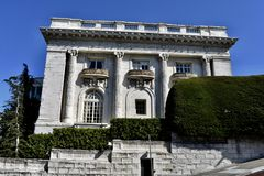 The Spreckels Mansion/Daniel Steel Home, 3. royalty free stock photo