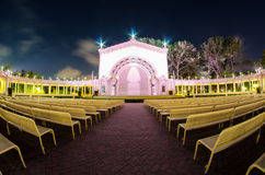 Spreckels Organ Pavilion. At Balboa Park, San Diego CA Stock Photography