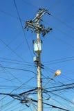 Spreco di elettricità Immagine Stock Libera da Diritti