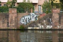Spree embankment. Berlin Royalty Free Stock Photography