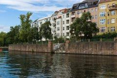 Spree embankment. Berlin Royalty Free Stock Photos