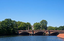 Spree River - Berlin - Germany stock photo