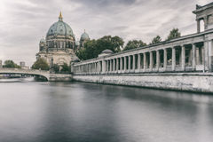 Spree River at Berlin Cathedral Royalty Free Stock Photo