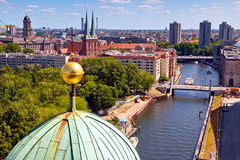Spree river in Berlin Royalty Free Stock Photo