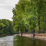 The Spree river in Berlin stock photos