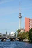 Spree river, Berlin Stock Photo
