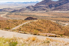 Spreetshoogte Pass landscape in Namibia Royalty Free Stock Photos