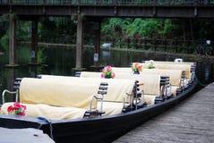 Spreewald boat Royalty Free Stock Image