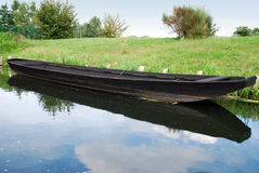 Spreewald boat Stock Images