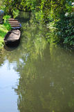 Spreewald boat Stock Photo