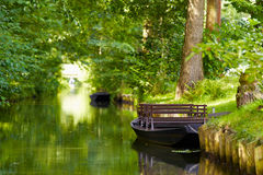 Spreewald boat Royalty Free Stock Photo