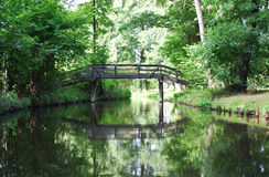 Spreewald bridge Royalty Free Stock Photography
