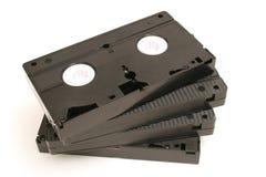 Spreid uit videobanden uit royalty-vrije stock afbeeldingen