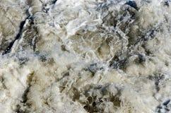 Sprej av havsvågor Royaltyfri Bild