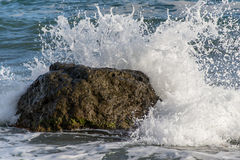 Sprej från vågorna Royaltyfri Foto
