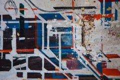 Sprejkonst, modern konst arkivfoto
