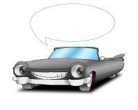 Sprekende cadillac auto Royalty-vrije Stock Fotografie