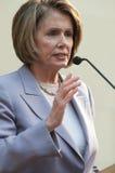 Spreker van het Huis Nancy Pelosi royalty-vrije stock foto's