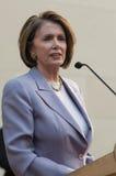 Spreker van het Huis Nancy Pelosi stock foto