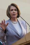 Spreker van het Huis Nancy Pelosi stock fotografie