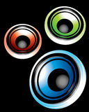 Sprekers Stock Foto's
