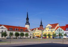 Spremberg-Quadrat stockfoto