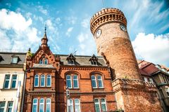 Spremberger tower in Cottbu Royalty Free Stock Photography