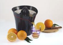Spremitoio arancione Fotografia Stock