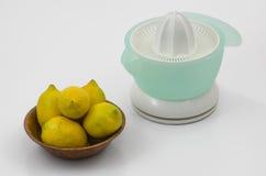 Spremitoio 05-Bowl del limone Fotografie Stock Libere da Diritti