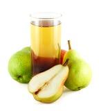 Spremuta della pera con le pere variopinte Immagine Stock