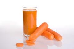 Spremuta di carota Immagine Stock Libera da Diritti