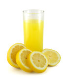 Spremuta di limone Immagini Stock Libere da Diritti