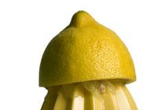 Spremuta di limone Fotografie Stock