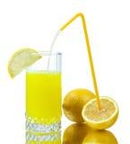 Spremuta di limone fresca Fotografia Stock