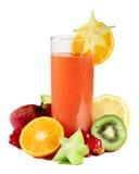 Spremuta di Multifruit Immagine Stock Libera da Diritti
