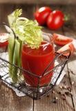 Spremuta di pomodori immagine stock