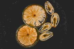 Spremuta di uva e del limone immagine stock