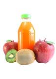 Spremuta e frutta. Fotografia Stock Libera da Diritti