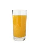 Spremuta fresca arancione Immagine Stock Libera da Diritti