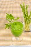 Spremuta fresca dell'asparago Fotografie Stock Libere da Diritti