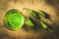 Spremuta verde Fotografie Stock Libere da Diritti