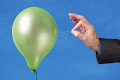 Sprengen Sie Ihre Luftblase Lizenzfreie Stockfotografie
