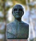 Sprengen Sie im Park von Mircea Eliade, Chisinau, Moldau lizenzfreies stockfoto