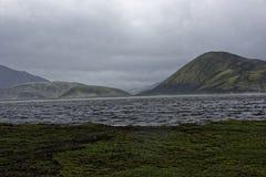 Sprengisandur, górski plateau w Iceland Zdjęcia Stock