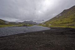 Sprengisandur,highland plateau in Iceland Stock Photography