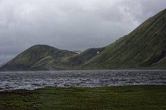 Sprengisandur, Hochlandhochebene in Island Lizenzfreie Stockfotos
