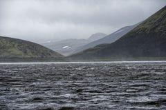 Sprengisandur, platô das montanhas em Islândia Fotos de Stock Royalty Free