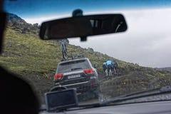 Sprengisandur, plateau des montagnes en Islande photographie stock libre de droits