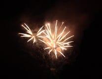Sprey do fogo Fotografia de Stock Royalty Free