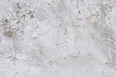 Spricka för stuckatur för vägg för texturGrungebakgrund Arkivbild